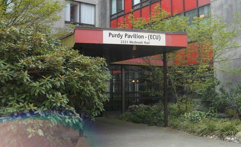 Purdy Pavilion, UBC (Phase 1)